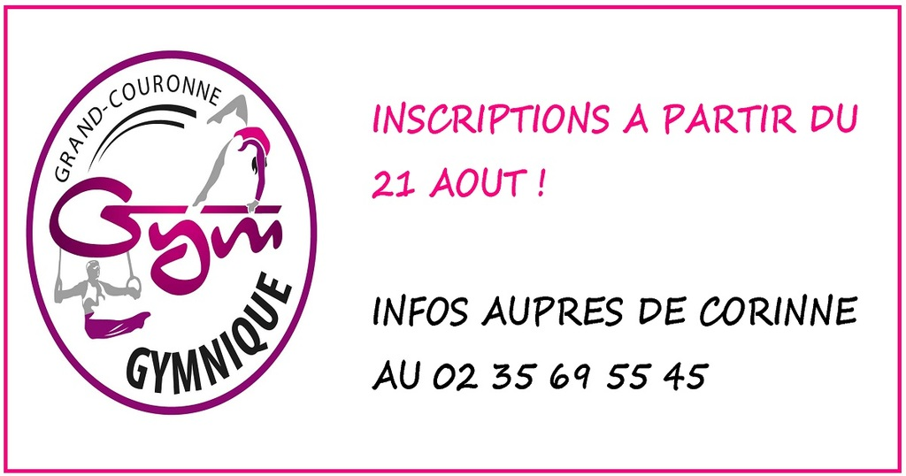 INSCRIPTIONS !